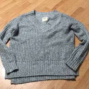 Hollister Women's sweater size small gray